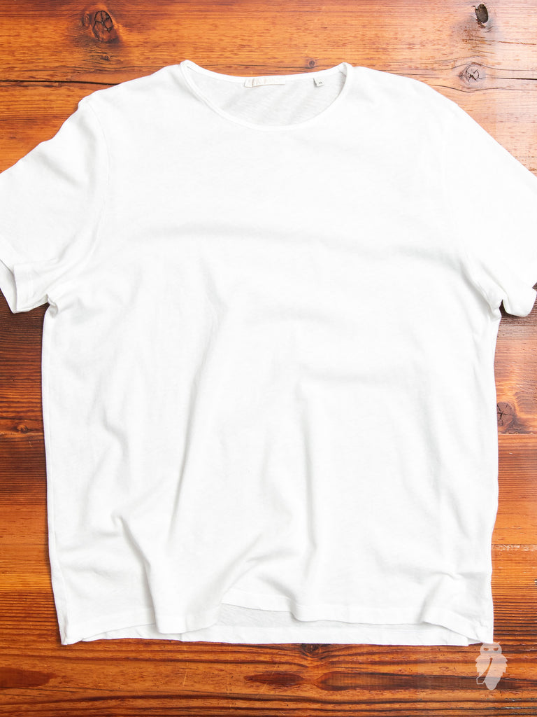 U-Neck T-Shirt in Optic White