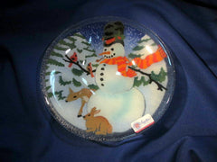 Peggy Karr Handcrafted Art Glass Snowman
