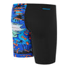 Boys Tropical Bonez Jammer- Black/Tropical Bonez