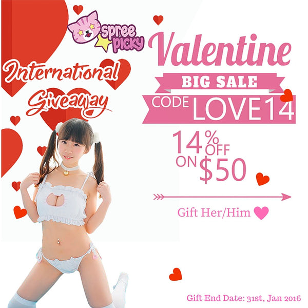 Valentine's Day Giveaway & Big Sale