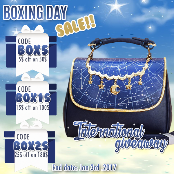 New Year Sale ! + Astrology Handbag Giveaway