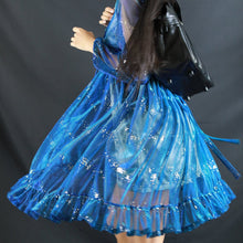 Load image into Gallery viewer, 4 Colors Fairy Galaxy Tulle Dress SP13918