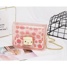 Load image into Gallery viewer, Kawaii Transparent Jelly Cross Body Bag SP13988