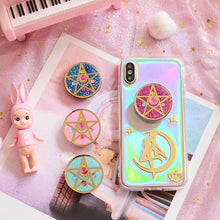 Load image into Gallery viewer, Custom Made Sailor Moon Paillette Phone Case SP13521