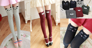 Cutie Animal Thigh High Socks SP154270 - SpreePicky  - 2