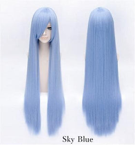 20 Colors Cosplay Long Straight Wig 100 CM SP152549 - SpreePicky  - 11