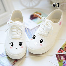 Load image into Gallery viewer, Kawaii Emoji Printing Canvas Shoes SP167951