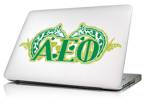 Alpha Epsilon Phi 11.75 x 5 <br> Laptop Skin/Wall Decal