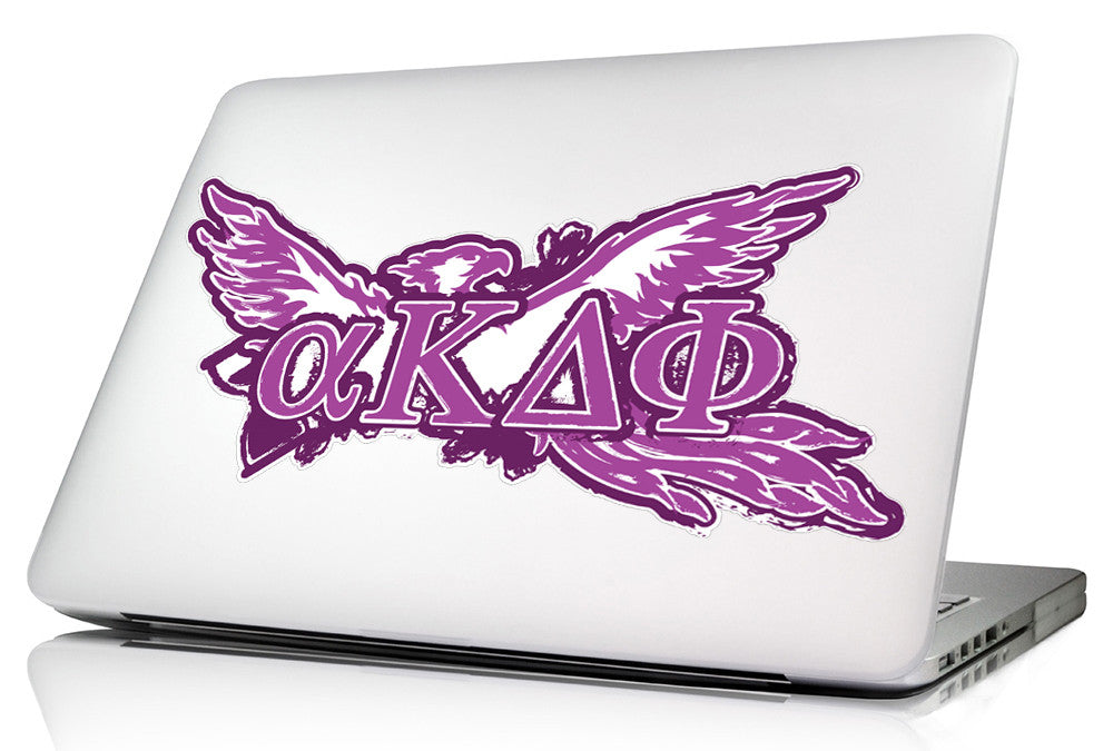 Alpha Kappa Delta Phi <br>11.75 x 5.5 Laptop Skin/Wall Decal