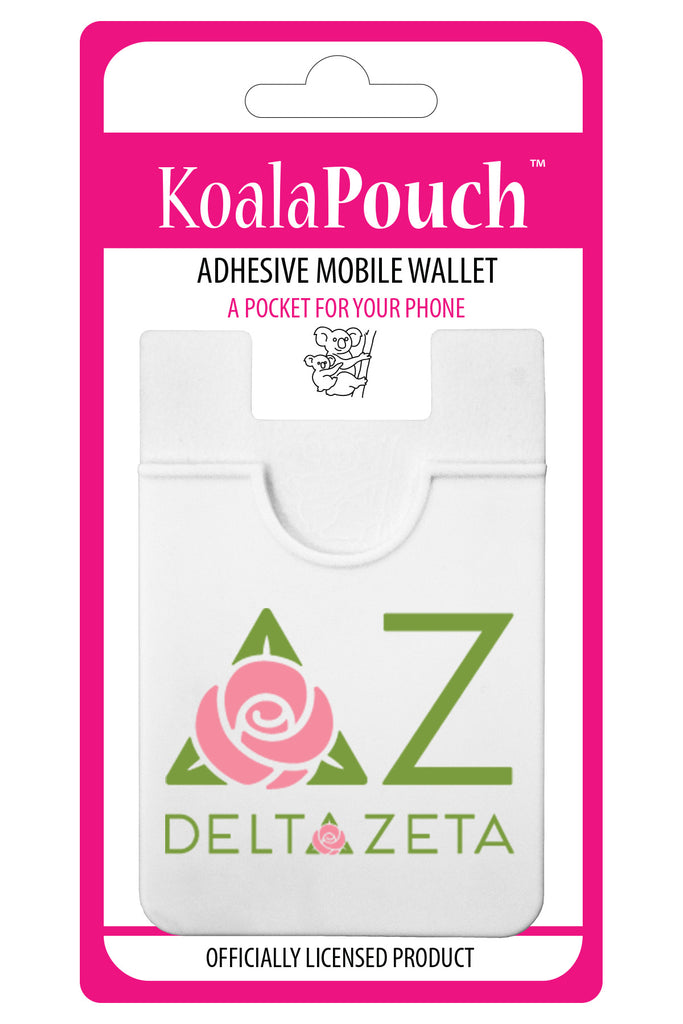 Delta Zeta<br> Koala Pouch<br>Adhesive wallet for your phone