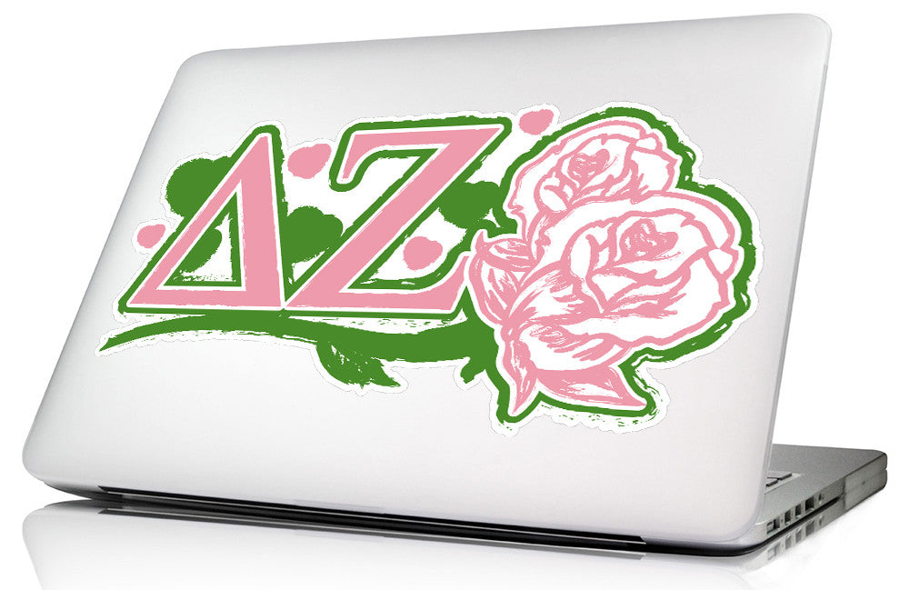 Delta Zeta <br>11.75 x 6 Laptop Skin/Wall Decal