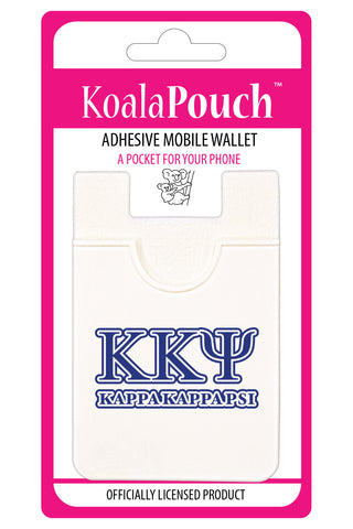 Kappa Kappa Psi<br> Koala Pouch<br>Adhesive wallet for your phone
