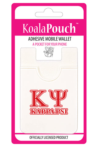 Kappa Psi<br> Koala Pouch<br>Adhesive wallet for your phone