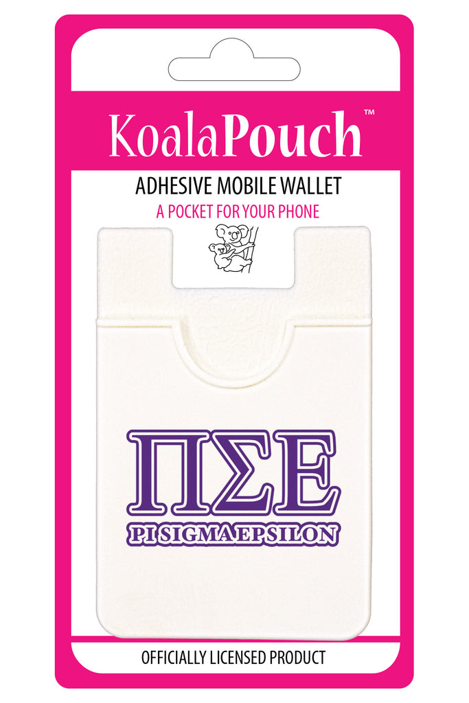 Pi Sigma Epsilon<br> Koala Pouch<br>Adhesive wallet for your phone