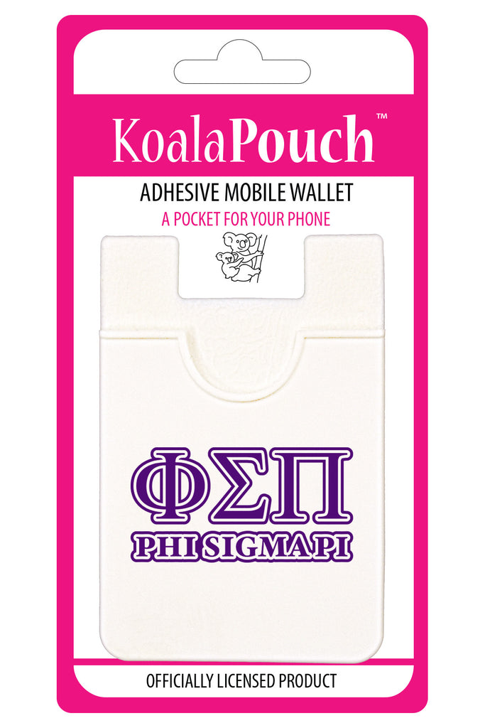 Phi Sigma Pi<br> Koala Pouch<br>Adhesive wallet for your phone