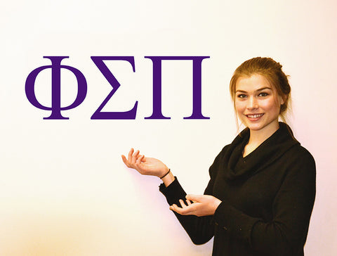 Phi Sigma Pi <br> Jumbo Letter Decals