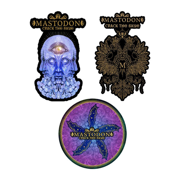 Crack the Skye Sticker Bundle