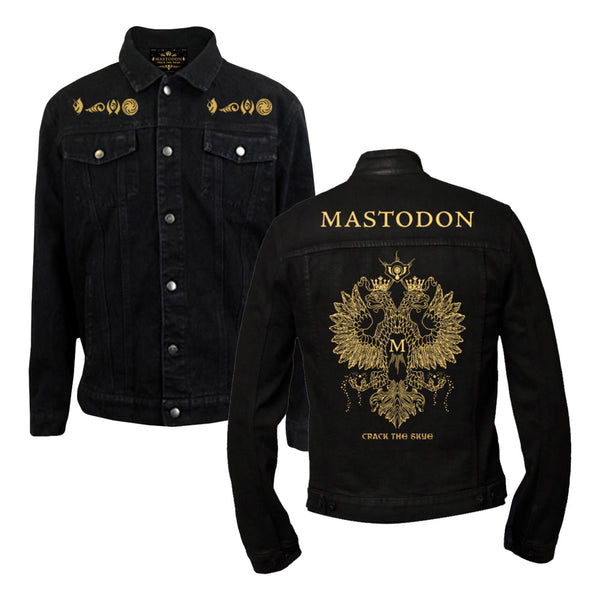 CTS Gold Eagle Cut and Sew Denim Jacket