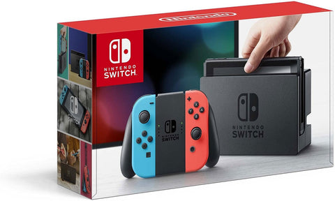 Nintendo Switch Neon Blue and Red
