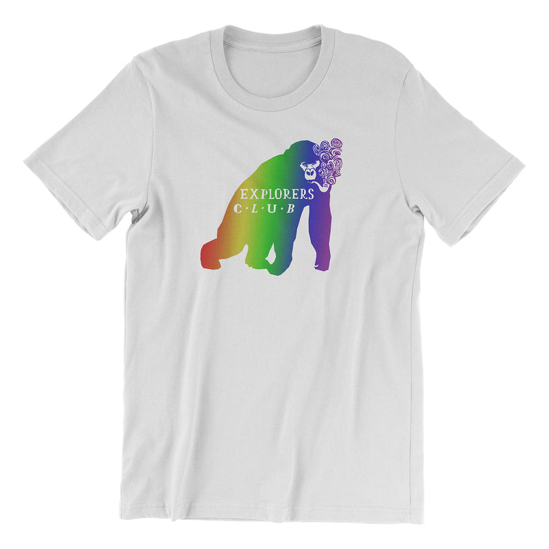 Explorers Club Food Truck - Rainbow Edition Tee