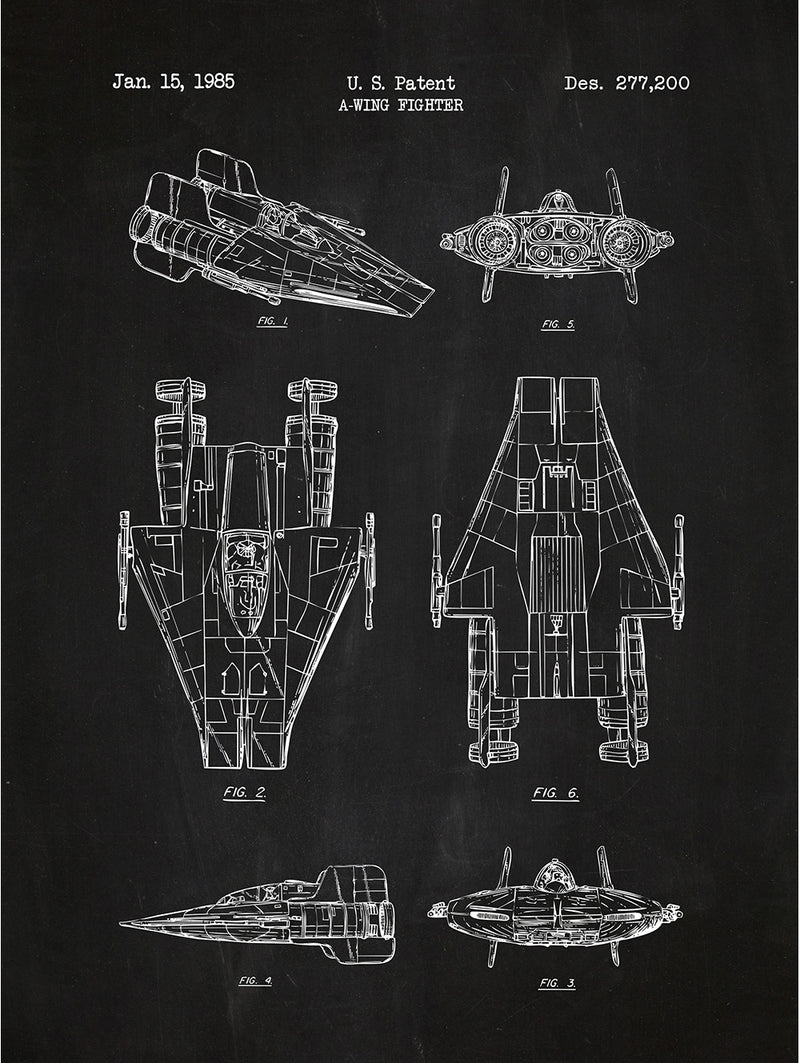 (V2) - Star Wars Vehicles: A-Wing Fighter