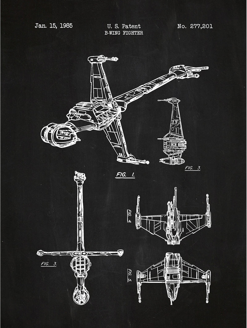 (U17) - Star Wars Vehicles: B-Wing