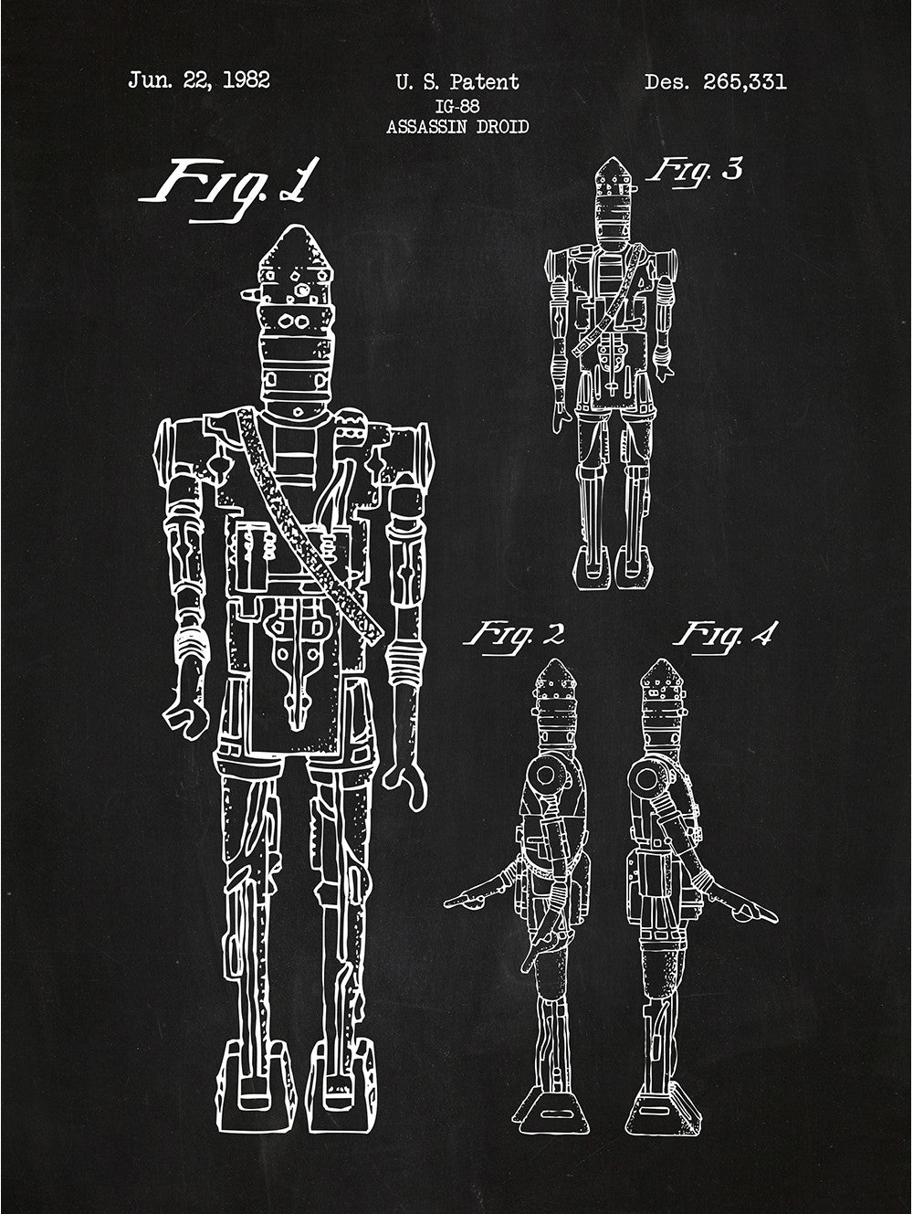 (L8) - Star Wars Characters: IG88 Droid
