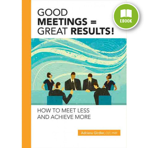 Good Meetings = Great Results (eBook)