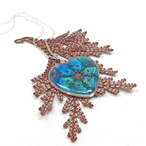 Forest - pendant and necklace
