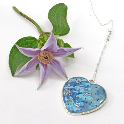 Frost - pendant and necklace