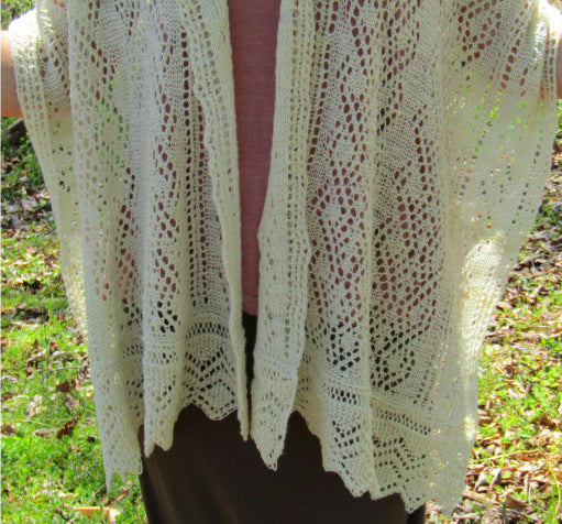 Cygnus Shawl -- Knitting Patterns -- PDF Download