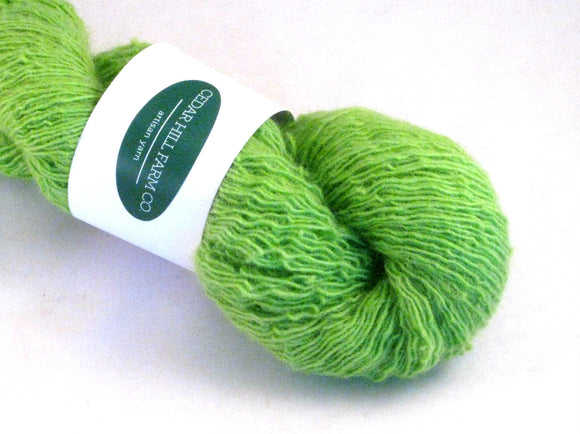 Green Apple -- Wool Singles-- Single Sheep