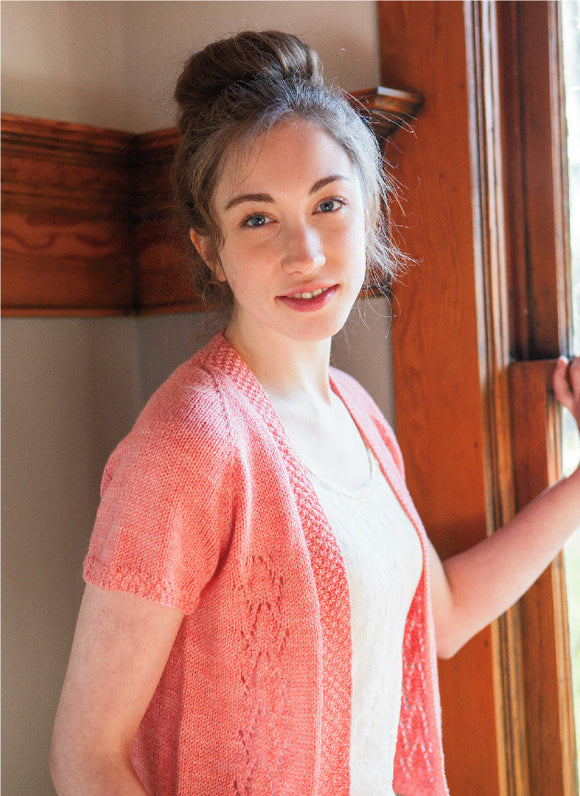 Strand Hill Cardigan -- Knitting Patterns -- PDF Download