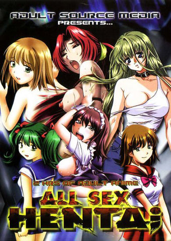 Cheap All Sex Hentai 1 porn DVD