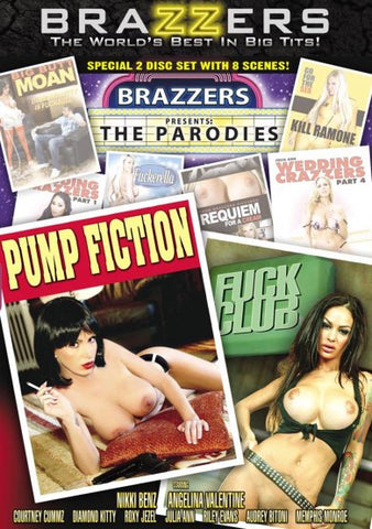 Cheap Brazzers Presents: The Parodies porn DVD