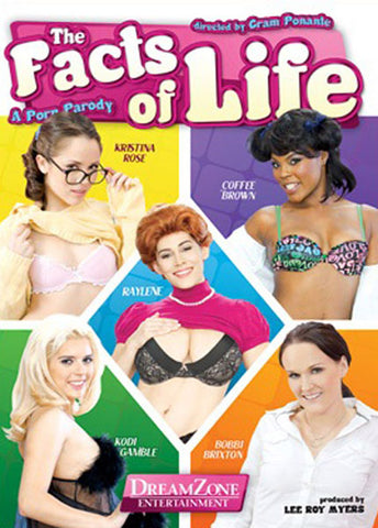 Cheap The Facts Of Life A Porn Parody porn DVD