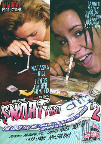 Cheap Snort That Cum 2 porn DVD