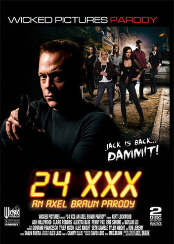 Cheap 24 XXX: An Axel Braun Parody ( Disc Set) porn DVD