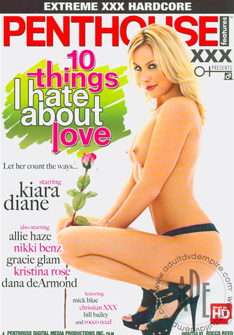 Cheap 10 Things I Hate About Love porn DVD