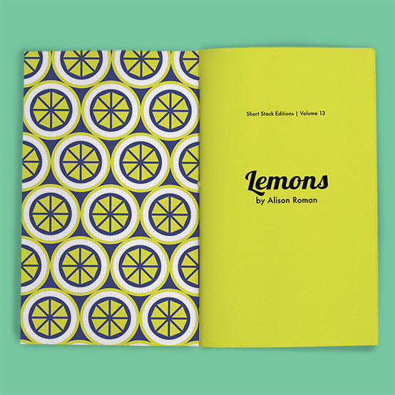 Vol 13: Lemons (By Alison Roman)