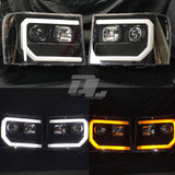 07-14 GMC Sierra Spyder Headlights