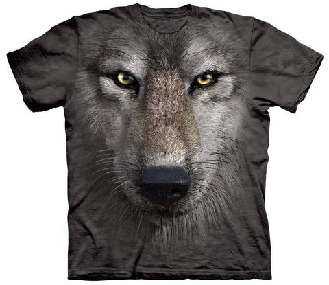 Wolf Shirt - Wolf Big Face