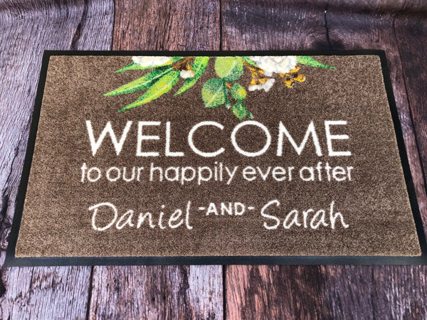 Wedding Doormat Custom