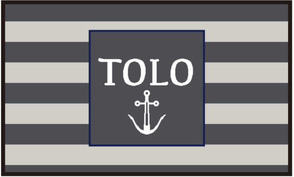 Personalised Doormat - Coastal Hamptons Style (Tolo)