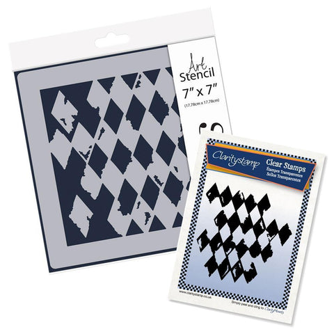 Harlequin <br/>Stamp Set & Stencil Bundle
