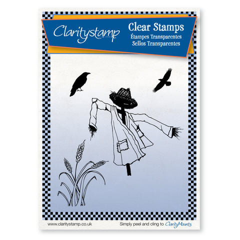 Scarecrow Field <br/>Unmounted Clear Stamp Set