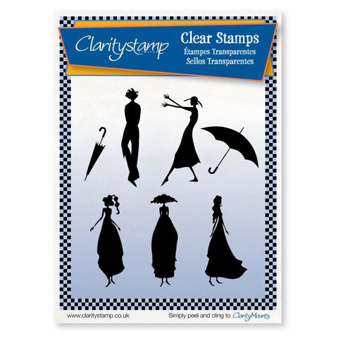 Clarity Characters <br/>Unmounted Clear Stamp Set