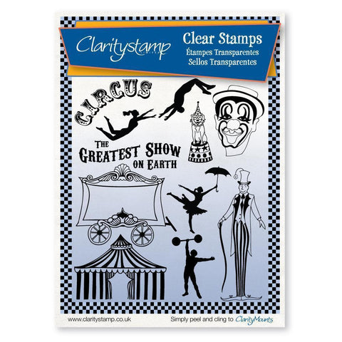 Circus <br/>Unmounted Clear Stamp Set