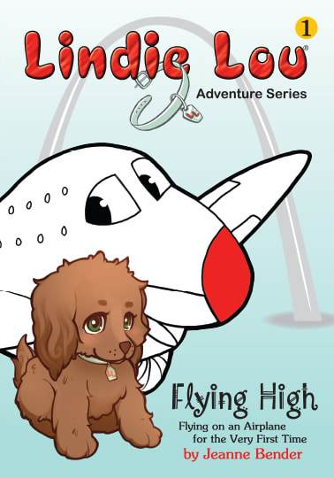 Flying High (HARDCOVER) - Lindie Lou Adventure Series Book 1