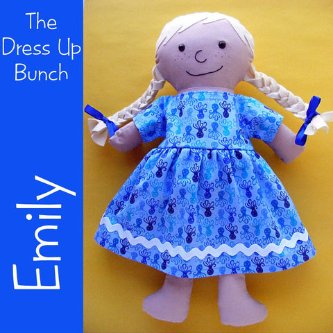 Emily - a Dress Up Bunch Rag Doll